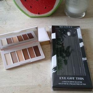 COLOURED RAINE Eyeshadow Palette &Morphe Brush Set